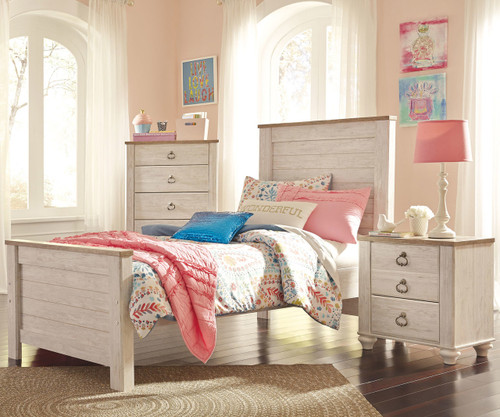 Willowton Panel Bed Twin Size
