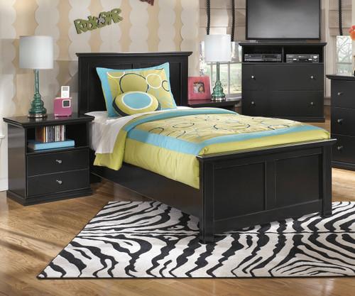 Maribel Panel Bed Twin Size