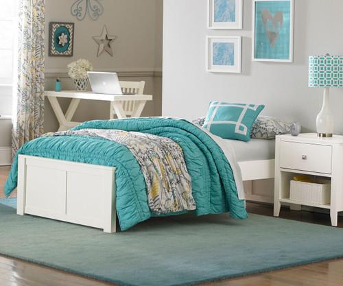Urbana Platform Bed Full Size White
