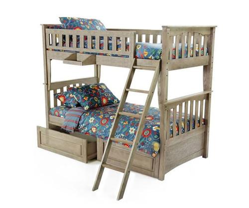 Grafton Bunk Bed Driftwood