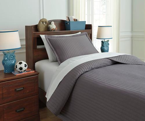Braston Bedding Set Gray Full Size