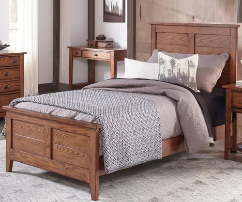 Grandpa's Cabin Panel Bed Full Size