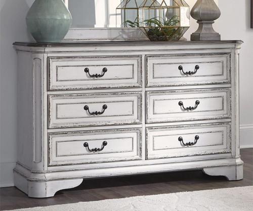 Magnolia Manor 6 Drawer Dresser