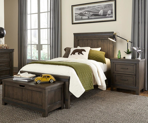 Thornwood Hills Panel Bed Twin Size