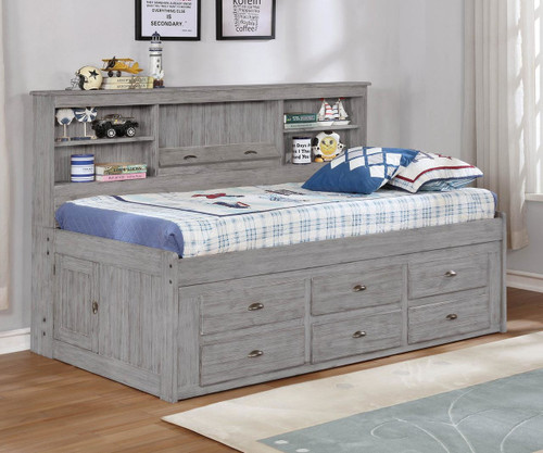 Northview Twin Size Bookcase Captain's Day Bed