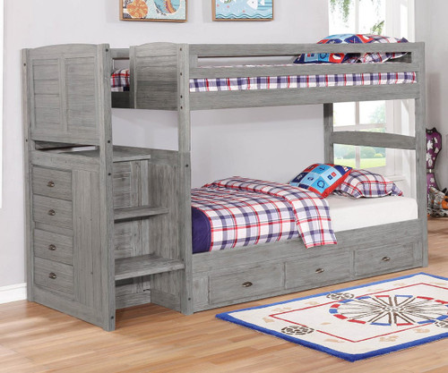 Northview Mission Stair Stepper Bunk Bed