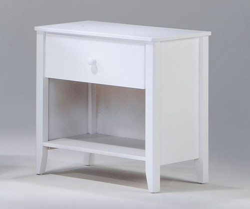 Zest Nightstand White