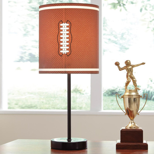 Lamar Metal Table Lamp Football