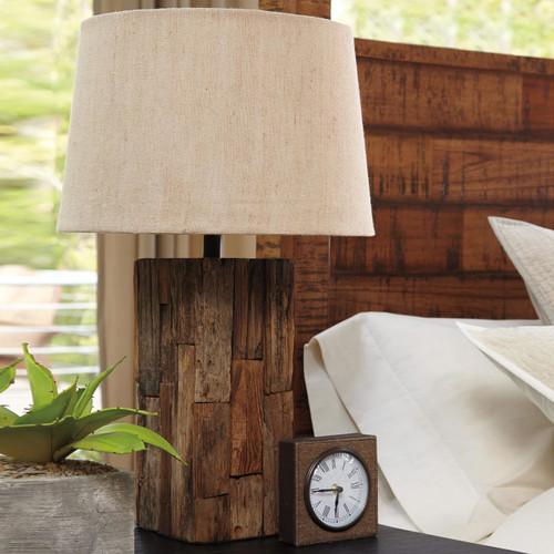 Selemah Wood Table Lamp