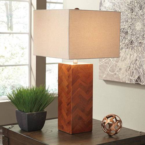 Tabeal Wood Table Lamp