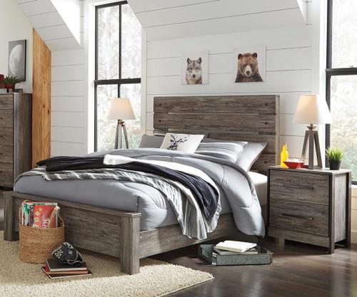 Cazenfeld Panel Bed Full Size