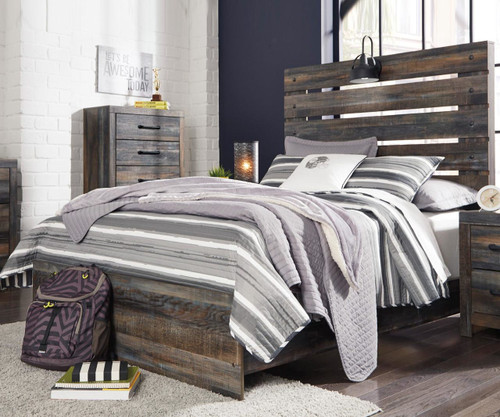 Drystan Panel Bed Full Size