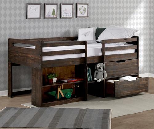 Rook Low Loft Bed
