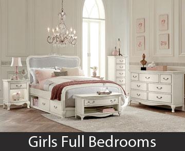 Girls Full Bedrooms