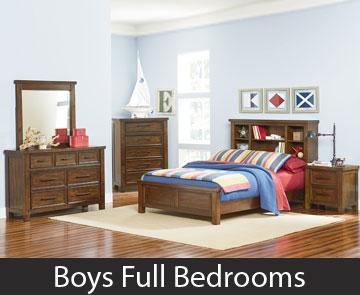 Boys Full Bedrooms