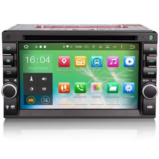 "PbA DD8136U Android 10.0 Octa-Core 6.2"" Double DIN GPS Radio"