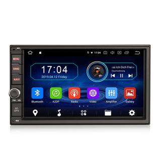 "PbA DD5970U Android 10.0 Quad-Core 7"" Double DIN GPS Radio"