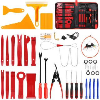 84 Peice Plastic Trim & Dash Removal Tool Set & Release Keys