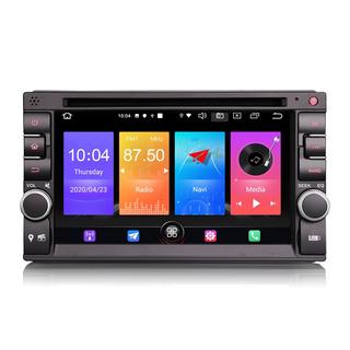 "PbA DD2736U Android 10.0 Quad-Core 7"" Double DIN GPS Radio"