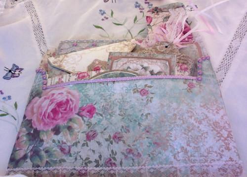Rose Garden Stuffed Envelope