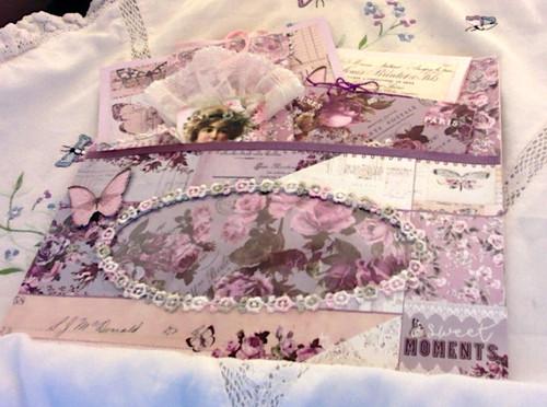 Provence Tissue Box Pocket