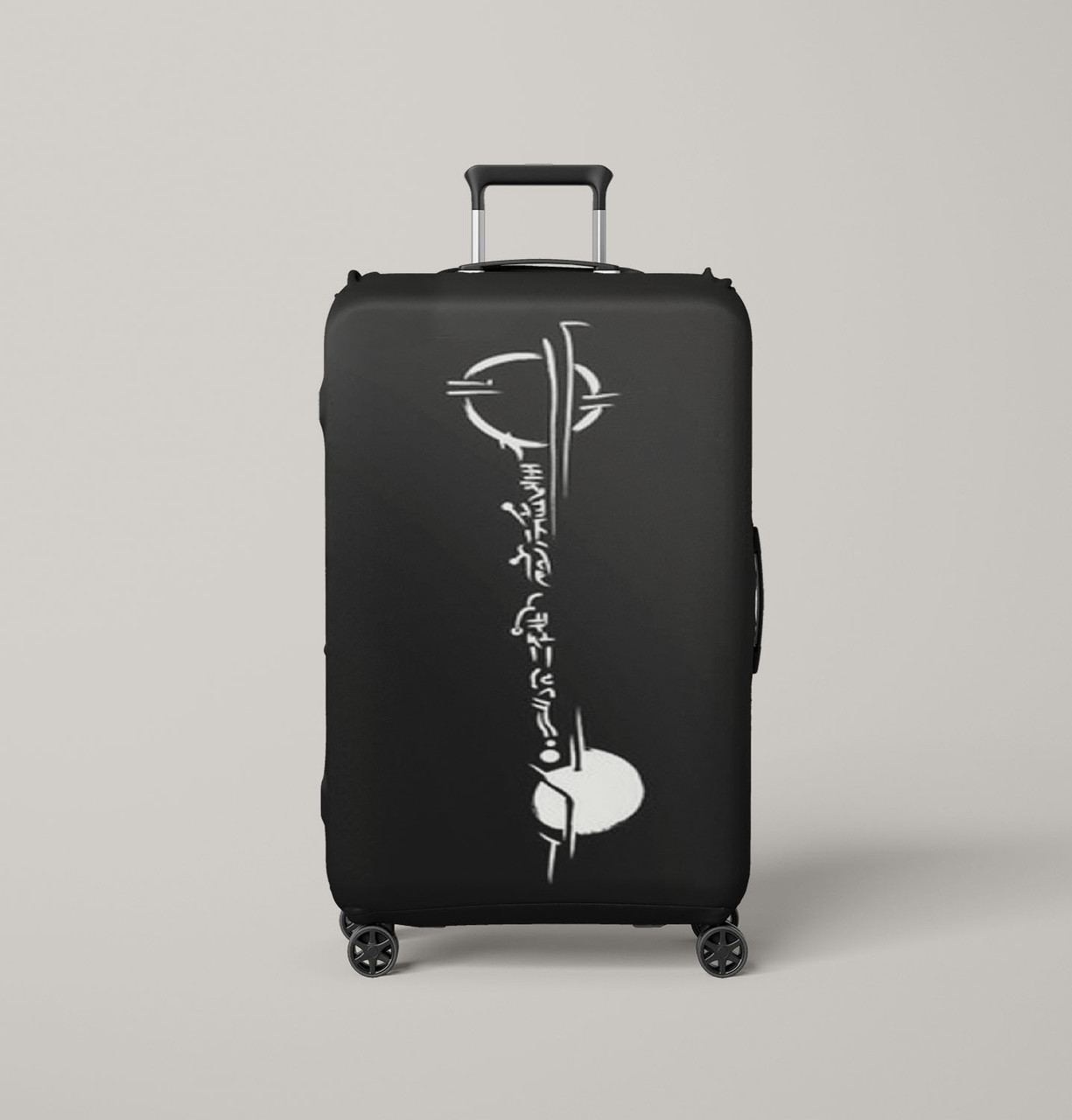 Lexa Tattoo The 100 Black Luggage Cover
