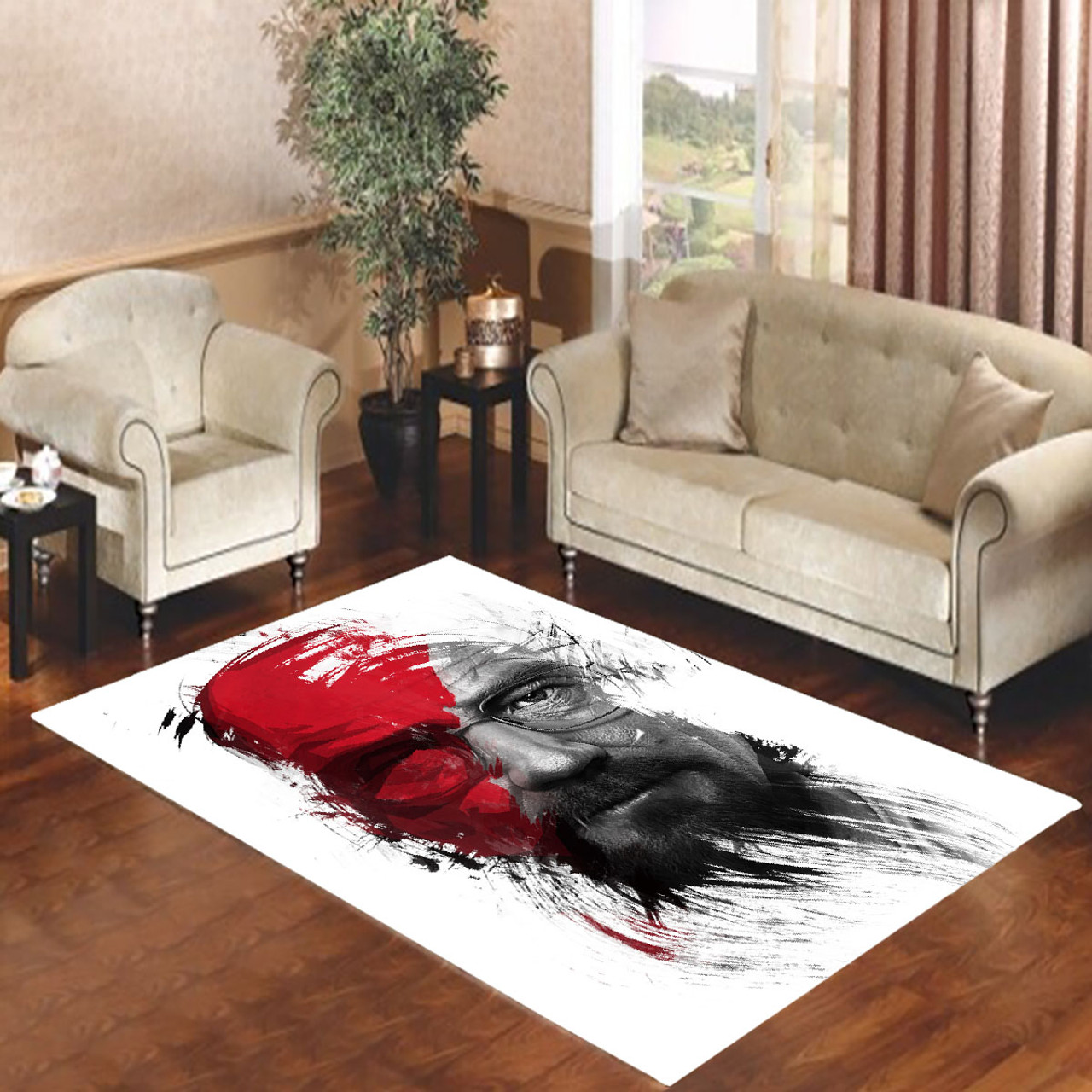 Heisenberg Breaking Bad God Of War Living Room Carpet Rugs Coverszy