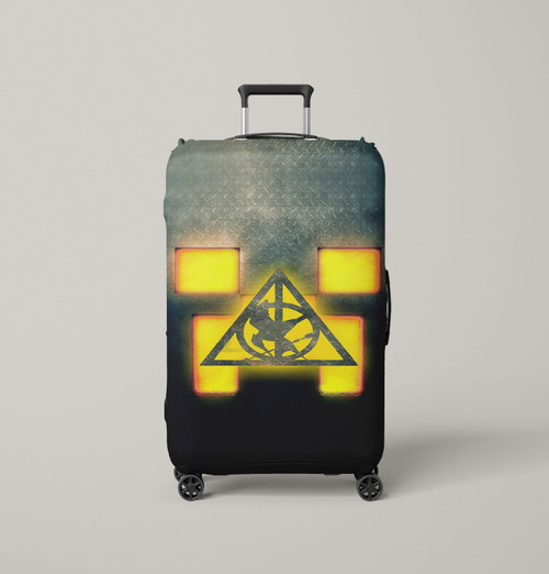 Minecraft Hunger Games Saverus Snape Luggage Cover