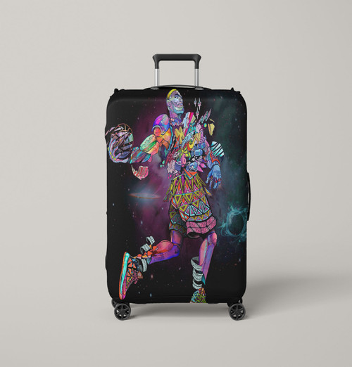 lebron x what the mvp nike Luggage Cover