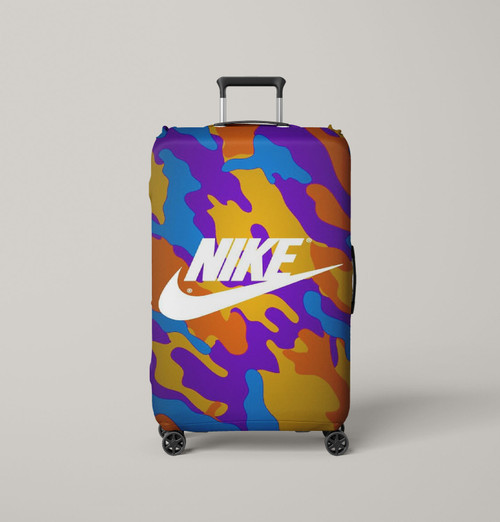 nike supreme full color Luggage Cover