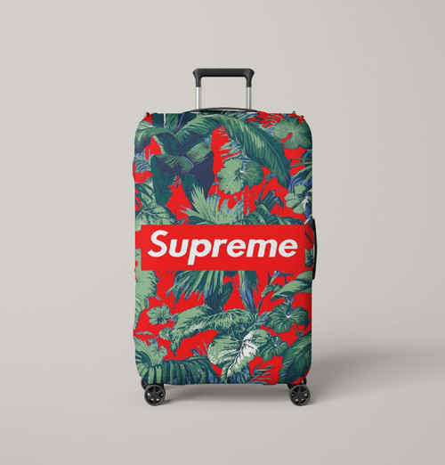 nike supreme tropical red Luggage Cover