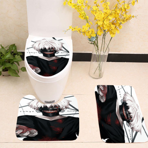 Tokyo Ghoul Toilet cover set up