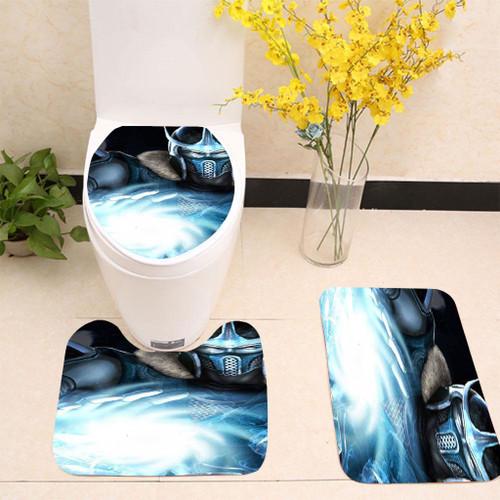 zero ice Ball Toilet cover set up
