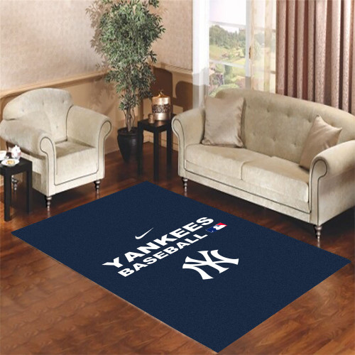 yaskees baseball Living room carpet rugs