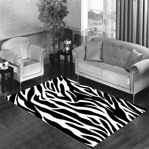 zebra Living room carpet rugs