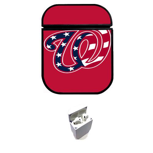 washington nationals logo 1 Custom airpods case