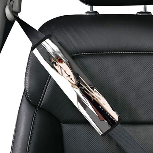 tokyo ghoul cartoon ken kaneki two faces Car seat belt cover