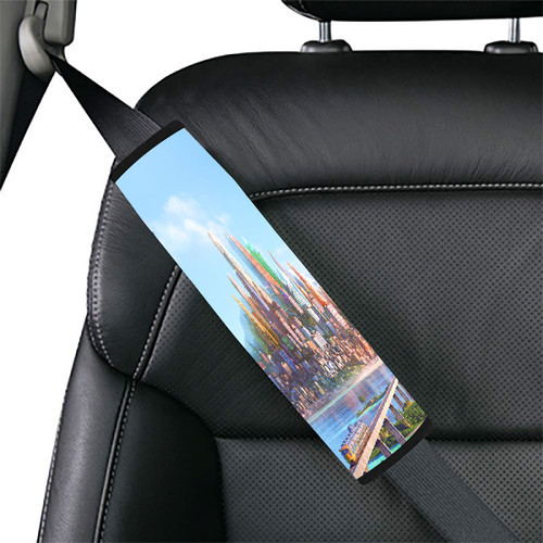 zootopia disney city wallpaper Car seat belt cover