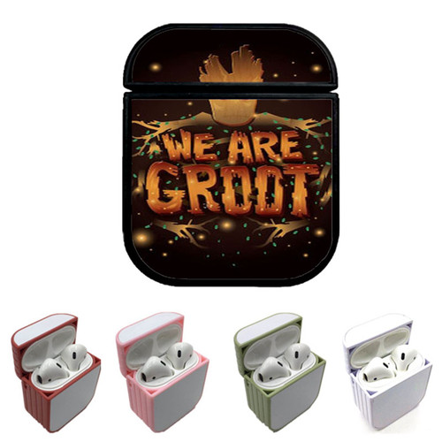 Guardian Of The Galaxy I Am Groot Custom airpods case