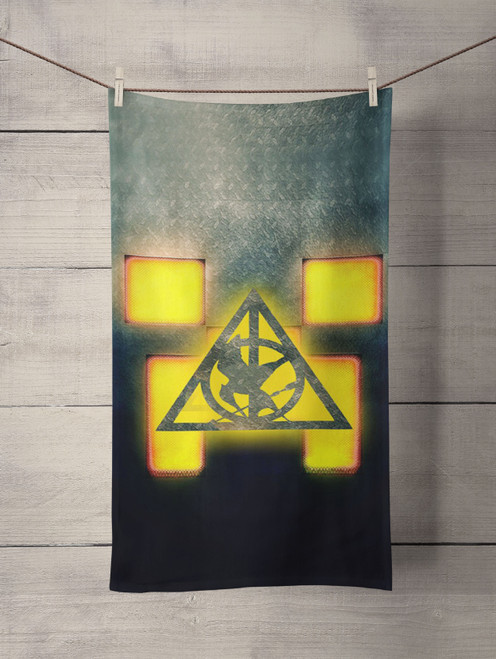 Minecraft Hunger Games Saverus Snape Custom Towel