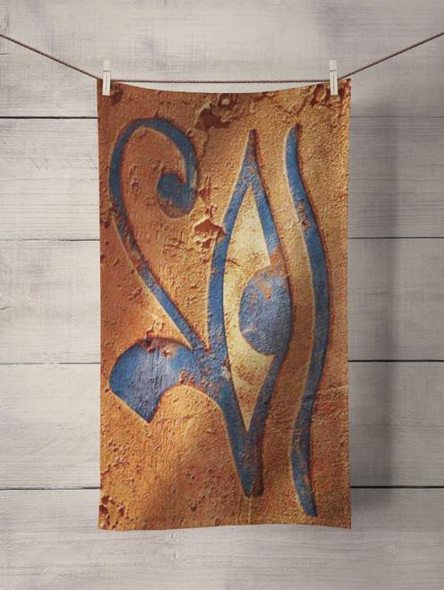 eye egyptian Custom Towel
