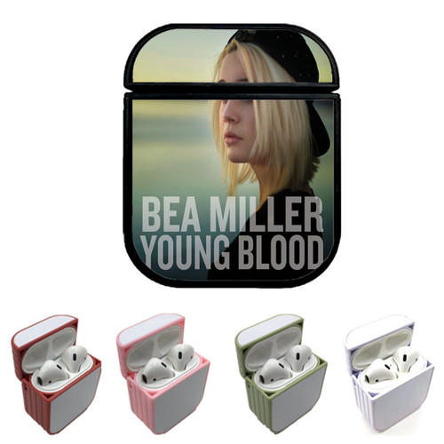 bea miller music young Custom airpods case