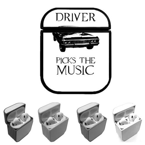 supernatural driver music car Custom airpods case
