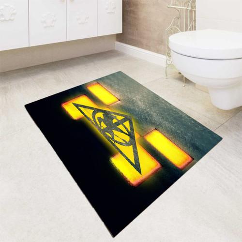 Minecraft Hunger Games Saverus Snape bath rugs