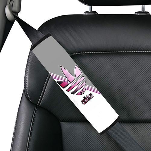 ADIDAS LOGO SILVER Car seat belt cover