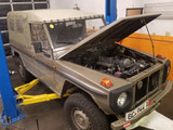 G-Wagen Engine & Transmission Swap