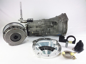 Manual 6-Speed Transmission & Shifter Kit for Mercedes OM617 Diesel W460 G-Wagon