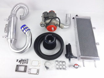 Performance Turbocharger & Intercooler Kit OM617 Turbo Diesel