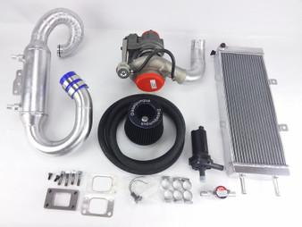 Performance Turbocharger & Intercooler Kit OM617 Turbo Diesel