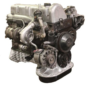 Mercedes OM617 3.0L High Performance Turbo Diesel Engine, REBUILT